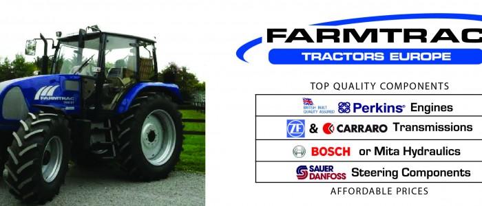 FarmTrac Tractors – Quality Components